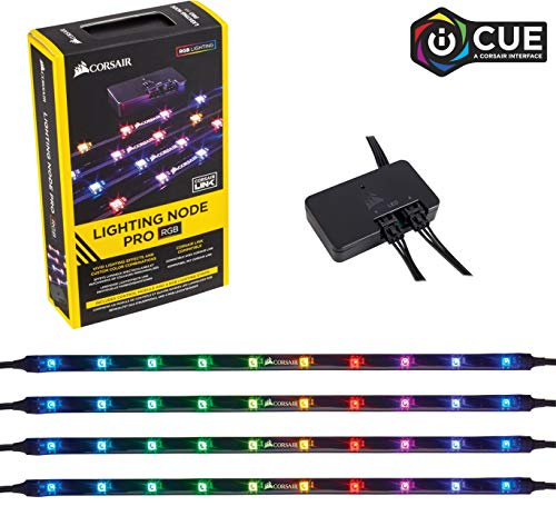 Corsair Lighting Node Pro - Controlador de iluminación RGB con tiras RGB LED controlable individualmente