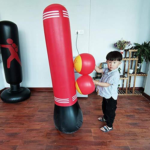 Ecisi Aufblasbare Boxhandschuhe Boxspielzeughandschuhe Stanzen Trainingshandschuhe - 2er Pack Boxspielzeug Geschenke für Erwachsene Kinder