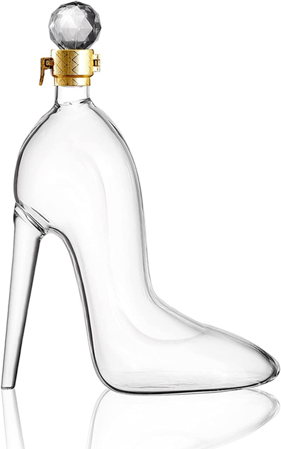 Believesinkinto Store Whiskey Outlet SALE Decanter High Mahogany shaped Heels With