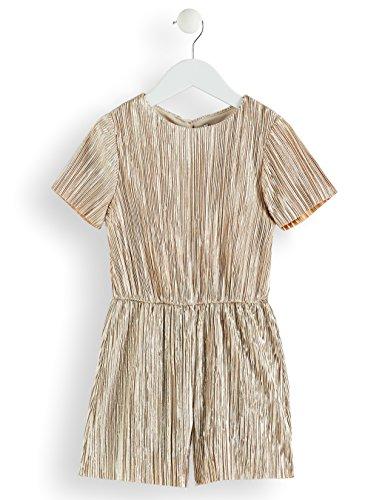 RED WAGON Amazon-Marke: RED WAGON Mädchen Jumpsuit mit Metallic-Fasern, Gold (Gold), 104, Label:4 Years