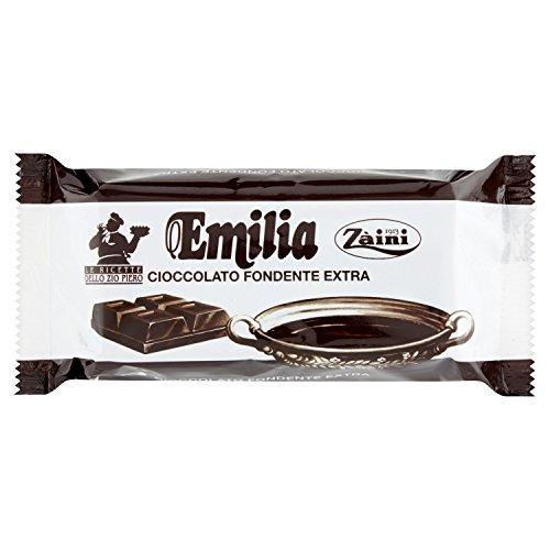 Zaini Emilia Cioccolato Fondente Extra, 200g