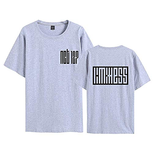 KPOP NCT 127 Limitless Fashion Shirt tee para Mujeres Hombres Fans Supportive Summer Outwear Full Color