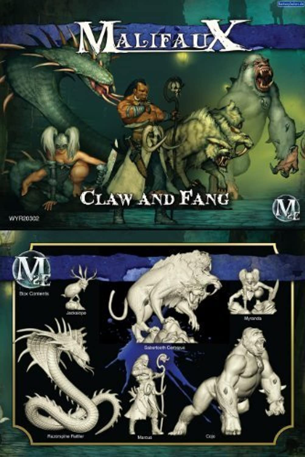 alta calidad y envío rápido Malifaux  Arcanists Arcanists Arcanists Claw and Fang by Wyrd Miniatures  hermoso