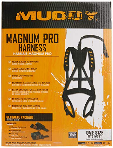 Muddy Magnum Pro Harness Black, UNITS