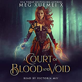 A Court of Blood and Void: A Reverse Harem Fantasy Romance  cover art
