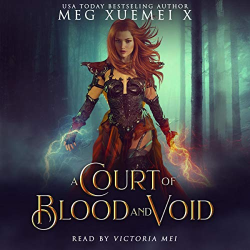 A Court of Blood and Void: A Reverse Harem Fantasy Romance  audiobook cover art
