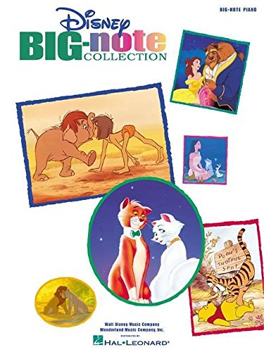 Disney Big-Note Collection -For Easy Piano-: Songbook für Klavier (Big-Note Piano)