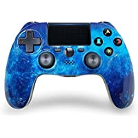 ISHAKO PS4 Wireless Dual Shock Gaming Gamepad with Touch Pad High-Precison Controller