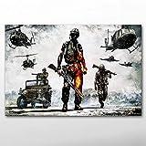 keletop Soldados, infantería, Militares_Puzzle Adulto 1000 Piezas_Juego de Rompecabezas para niños y Adultos_50x75cm