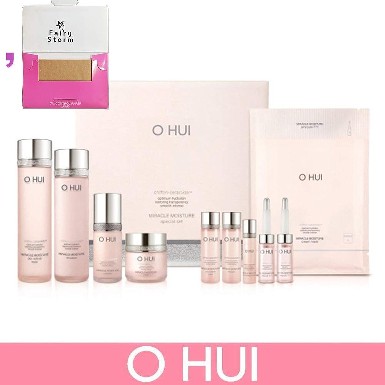 伝染性定期的消防士[オフィ/O HUI]韓国化粧品LG生活健康/Miracle Moisture 4 kinds of special set/ミラクルモイスチャー 4種のスペシャルセット+[Sample Gift](海外直送品)