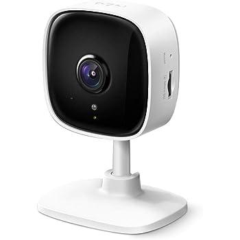 TP-Link WiFi カメラ micro SD対応 1080p ナイトビジョン 動作検知 双方向通話 3年保証 Tapo C100
