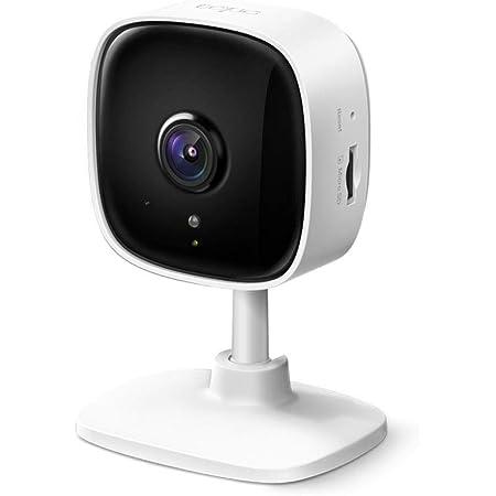 TP-Link WiFi カメラ micro SD対応 1080p ナイトビジョン 動作検知 双方向通話 3年保証 Tapo C100/A