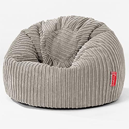 Lounge Pug - Pana Clásica - Puff para niños - Puff Redondo Infantil - Visón