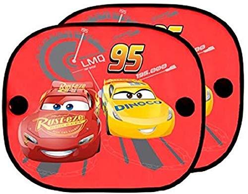 ABC Parts Cars CARS101 Tendine Coprisole, Rosso, Set di 2