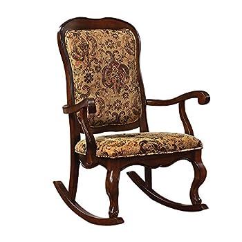 ACME Furniture 59390 Sharan Rocking Chair Cherry