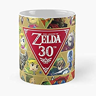 The Legend Of Zelda Hyrule Warriors Link Marin -funny Gifts For Men And Women Gift Coffee Mug Tea Cup White-11 Oz.
