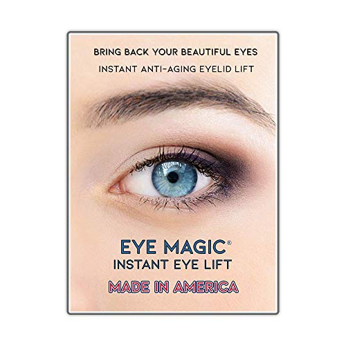 Eye Magic Premium Instant Eye Lift (Small/Medium) Made in America - Lifts and Defines Droopy, Sagging, Upper Eyelids