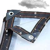 Kofferraum Ropa Impermeable al Aire Libre del paño del Espesamiento de Camiones Lona Impermeable Protector Solar Cochera de Tela de la sombrilla de Aislamiento Lienzo,2x4m