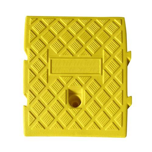 Rampas portátiles de Decaden para bordillos, ligeras, de plástico de alto rendimiento, para remolques de coches, camiones, bicicletas, motocicletas, caravanas, pasos.