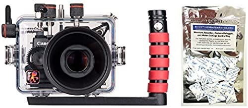 Ikelite Canon G1 X Mark II Housing w/FREE Moisture Munchers