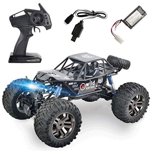 RC Car Crawler 4WD Tout Terrain Voiture RC Voiture 1 : 8 Proportion 2.4 Ghz Télécommande Télécommande Rechargeable Off Road Boy Fille Cadeau d'anniversaire