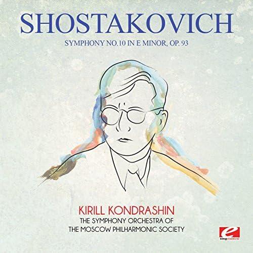The Symphony Orchestra of the Moscow Philharmonic Society & Kirill Kondrashin