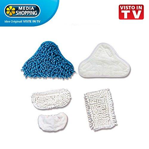 Kit Reinigungstücher für Dampfreiniger H2O X5PLUS Mediashopping in TV