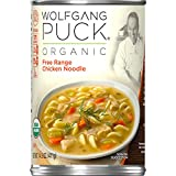 Egg noodles, free-range chicken, carrots and sliced celery in every bite A soup developed by celebrity chef Wolfgang Puck Made with authentic ingredients Easy and delicious when you're crunched for time Garnish with a sprinkle of dill to enhance the ...