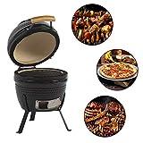 Aoxun 13' Kamado Grill, Roaster and Smoker. BBQ...