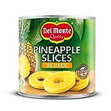 Del Monte Ananas Scheiben in Saft, 6 X435 g
