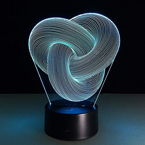 3D Acrylic LED Night Light Multi-Color Table Lamp Decoration