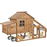 Best Chicken Coops - AVV Portable Chicken Coop for 4-6 Chickens Tractor Review