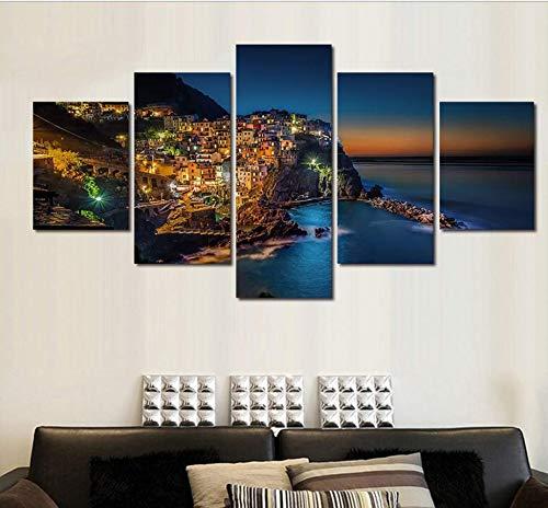 UPUPUPUP HD Ordenador Pintura en Aerosol Pintura al óleo Pintura Mural Cinco...
