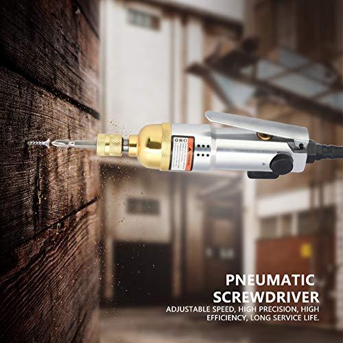Air Screwdriver,Akozon Pneumatic Air Screwdriver 1/4