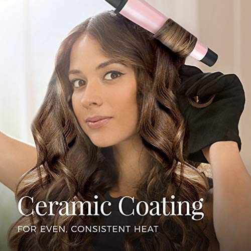 """REMINGTON Pro 1"""" - 1 ½"""" Conical Barrel Curling Wand with Advanced Thermal Technology"""