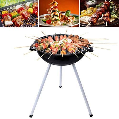 Barbecue pliable Barbecue de camping portable Cuisinière à charbon de bois pour les campeurs en plein air Les amateurs de barbecue Travel Park Beach and Wild
