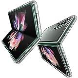 DOHUI für Samsung Galaxy Z Fold 3 5G Hülle, Ultra-Dünne Transparent Hartes PC Handyhülle Stoßfest Kratzfeste Schutzhülle passt für Samsung Galaxy Z Fold 3 5G