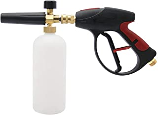 Twinkle Star 3000 PSI High Pressure Washer Gun Snow Foam Lance Cannon Foam Blaster with M22-14mm Thread