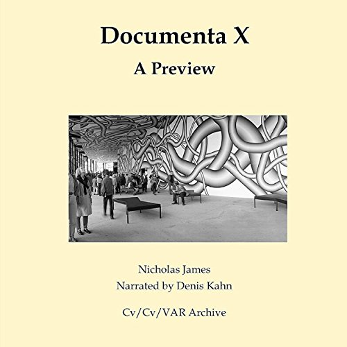 Documenta X: A Preview audiobook cover art
