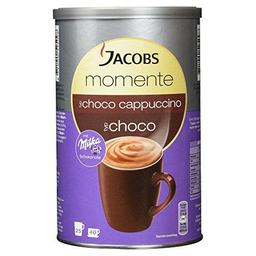 Jacobs Momente Choco Cappuccino mit Milka Schokonote, 500 g