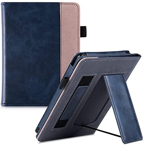 Capa para Kindle Paperwhite (Todas as versões, incluindo 10ª Geração, 2018) - Capa protetora inteligente com alça de mão, suporte dobrável, fecho magnético, função automática de sono, despertar