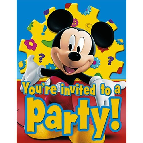 Mickey Mouse Clubhouse Invitations w/ Env. (8ct)