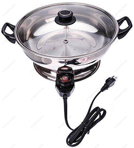 Electric Mongolian Hot Pot with Divider