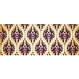 Papel de embalaje de regalo Papel de fondo de brocado de damasco floral de vector vintage para cumpleaños, vacaciones, papel de regalo de boda 58'x 23' (1 rollo)