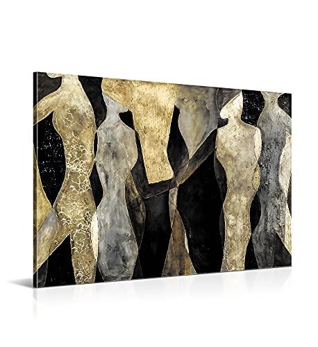 Cuadro Abstracto Moderno - 120 x 80 cm - Decoración para Salón...