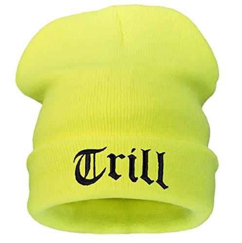 4sold T-Shirt mit Schnappverschluss, Justin Bieber Bourn 1994 Want meine Nummer Trill (neo gelb)