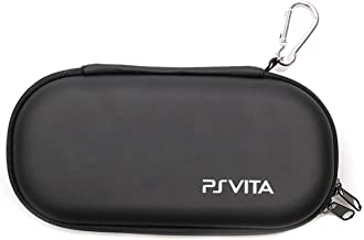 ELIATER Playstation Vita Carring Case Portable Travel Pouch Cover Zipper Bag Compatible for Sony PSVita 1000 2000 Game Con...