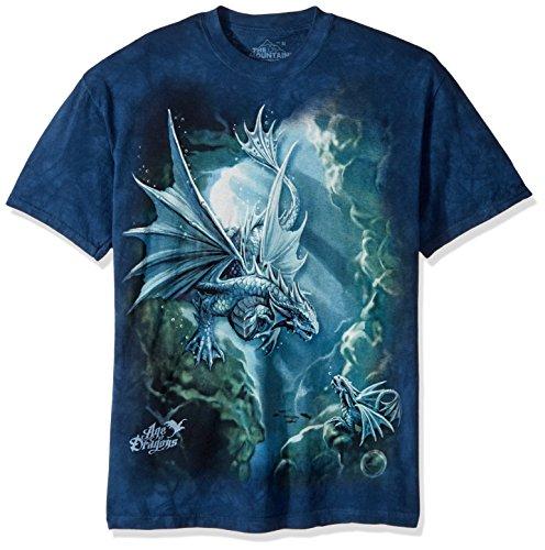 The Mountain Herren Sea Dragon - Blau - 5X-Groß