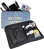 Dia-ZipperBag - Bolsa para diabéticos : kit para llevar su medidor de glucosa en sangre, tiras reactivas, toallitas, bocadillos, lancetas