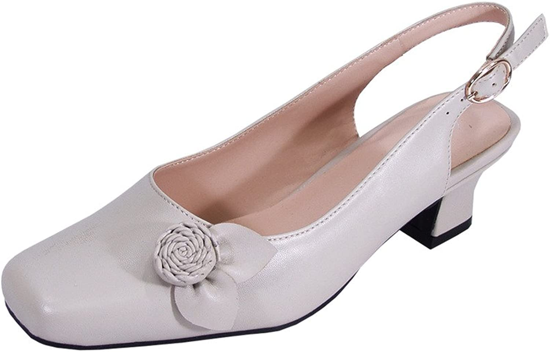 Peerage Cheryl Women Wide Width Slingback Comfort Dress Low Heel shoes for Wedding, Prom, Evening, Work
